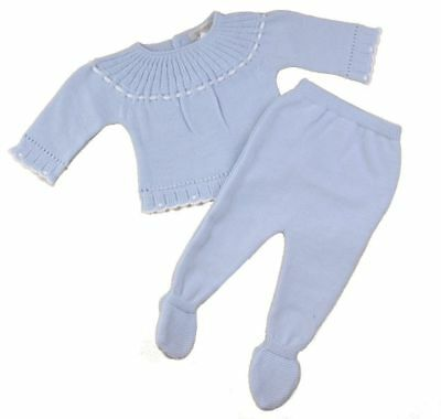Spanish style Romany 2 piece knitted outfit by Mintini Baby 1 & 3 months BNWT