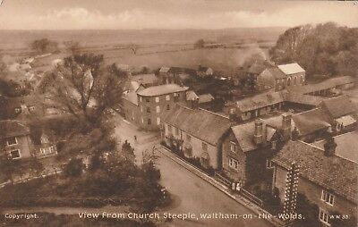 Leicestershire,  Waltham on the Wolds, View From Church Steeple.