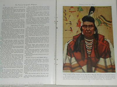 1948 magazine article Indians of the Far West, Native Americans
