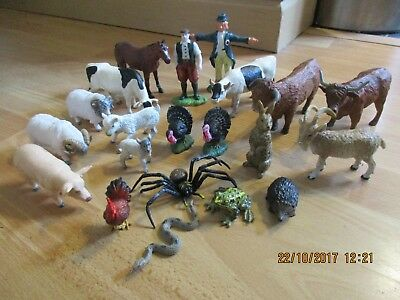 ELC Farm Wildlife Animals Large Bundle, Farmer, Scarecrow etc! Wow!