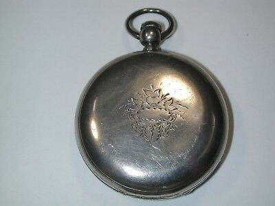 Waltham 18 Size Model 57 Coin Silver Hunting Pocket Watch Case. 167M
