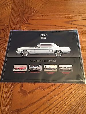 Official 50 Years Of The Ford Mustang 8 X 10 Photo Set