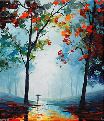 CHOP10 large 100% hand-painted Landscape oil painting wall decor art on canvas