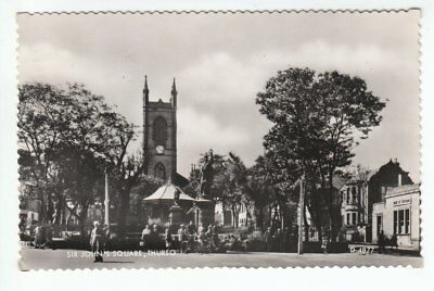 Sir John's Square Thurso 1960 Real Photograph Tennant Millhill Lane Musselburgh