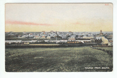 Thurso From The South Caithness Pre 1914 Russell & Leslie 2272 Old Postcard