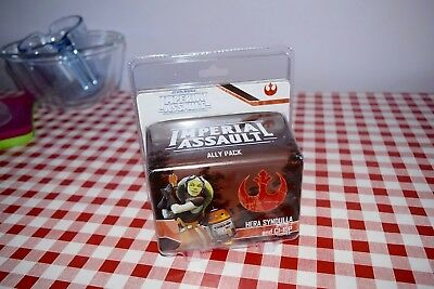 Imperial Assault  SWI43 Hera Syndulla and C1-10P Fantasy Flight mint in packet
