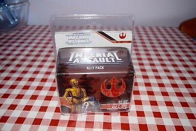 Imperial Assault  SWI12 R2-D2 and C3PO Fantasy Flight mint in packet