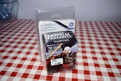 Imperial Assault  SWI30 Grand Inquisitor  Fantasy Flight mint in packet