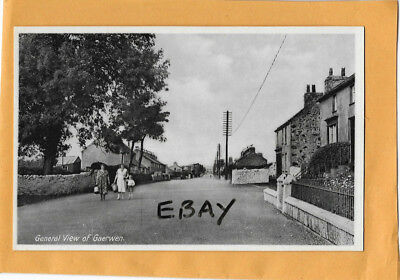 Old Postcard General View Of Gaerwen Anglesey North Wales