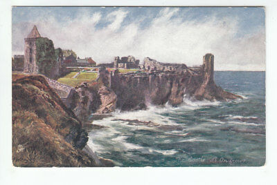 St Andrews Castle FW Hayes Early 1900's Tuck's Oilette 7118 Old Postcard