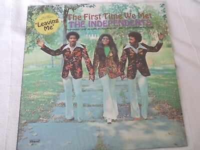 The Independents 'The First Time We Met' US Wand northern soul LP exc