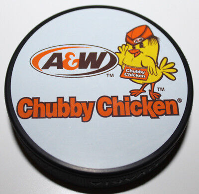 A&W Restaurant Canada Chubby Chicken Hockey Puck