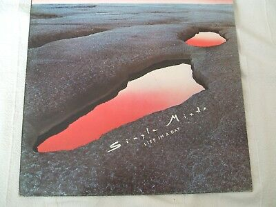 Simple Minds 'Life In A Day' UK Virgin new wave rock LP exc