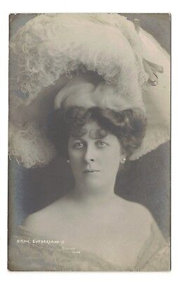 Old Real Photo Postcard Birdie Sutherland