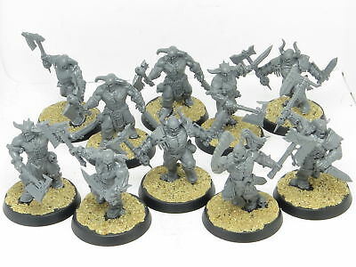 BLOODREAVERS x 10   - Age Of Sigmar Blades Of Khorne Chaos Warhammer Army