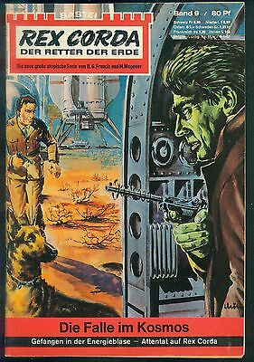 Rex Corda Der Retter der Welt Nr.9 von 1967 - TOP Science Fiction Bastei Roman