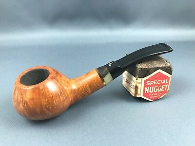 L'Anatra Pfeife pipe pipa - 9mm Filter Handmade in Italy Horn Holmring