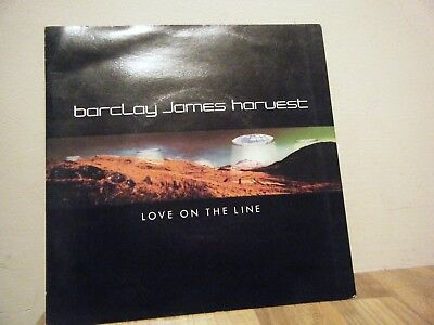 PICTURE SLEEVE.rock.BARCLAY JAMES HARVEST.1979.LOVE ON THE LINE.prog.POLYDOR.