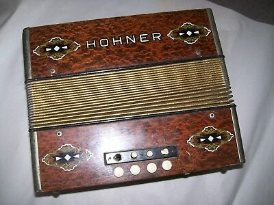 Hohner Diatonic accordion for restoration or parts
