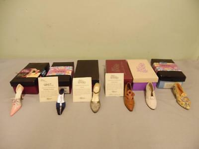 Joblot Bundle  Of Just The Right Shoe  Boxed Lot 4