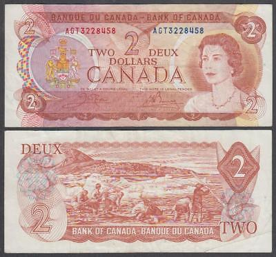 1974 Bank of Canada Queen Elizabeth II 2 Dollars