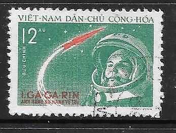 VIETNAM (N) - 1961. World's First Manned Space Flight - 12x., Used.