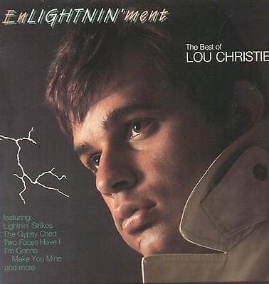 LP Lou Christie Enlightninment: The Best of Lou Christie STILL SEALED Rhino