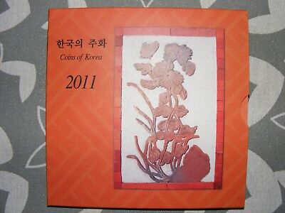 Coins of South Korea 2011 mint coin set
