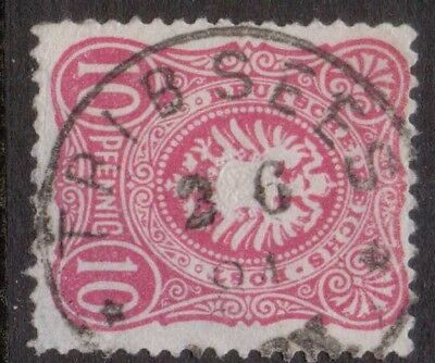 """Germany  Postmark / Cancel  """"tribsees""""   1881"""