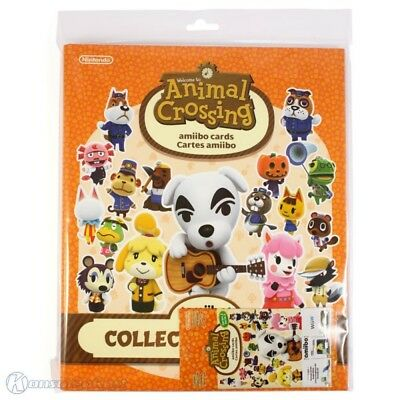 Amiibo - Animal Crossing Cardn Sammelalbum Serie 2 + 3 Cardn (NEW & BOXED)
