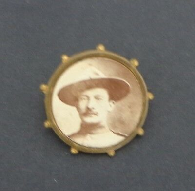 1900 Baden Powell Pin Badge Produced After Mafeking Boer War Before Boy Scouts