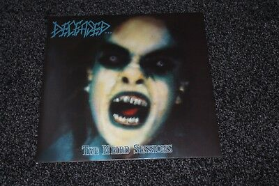 """Deceased / Crucified Mortals – The Weird Sessions UK 10"""" MINT LOOKS UNPLAYED"""