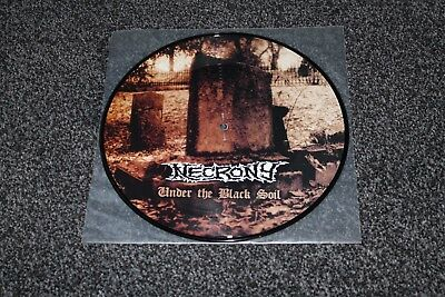 """Necrony Under The Black Soil 10"""" Picture Disc Mint Looks Unplayed"""