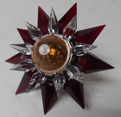 C-7 Illumibrite Matchless Star - Red Clear Amber - 900 Size