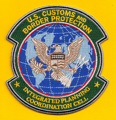 S7 * Uscbp Ipcc Integrated Planning Ice Homeland Federal Agency Fbi Police Patch