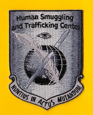 S11 * Ice Human Smug Traffic Hsi Homeland Federal Agency Ice Fbi Police Patch