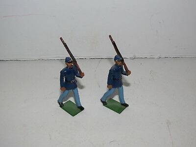 @ Union Infantry Britains Toy Soldiers No Box #2 @