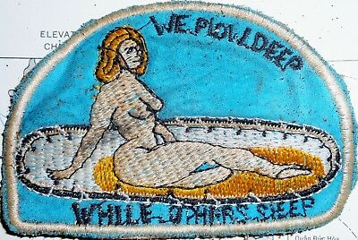 JUNGLE CLEARANCE - PATCH - WE PLOW DEEP, WHILE OTHER SLEEP - Vietnam War - 700