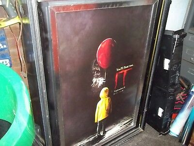 It Double-Sided Movie Poster