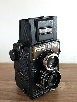Vintage LUBITEL 166B LOMO 120 Film Medium Format CAMERA Russian Retro TLR 75mm