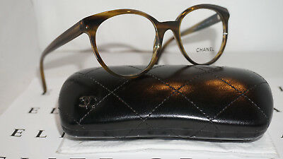 c84f01d1598f CHANEL RX Eyeglasses New Authentic Brown Tortoise Marble 3355 C.1579 51 19  140
