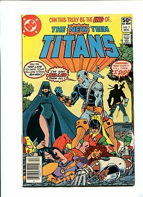 New Teen titans #2 1st app Deathstroke