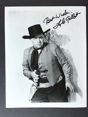 ACTOR LYLE TALBOT (1902-1996) (30+ Year Career) AUTOGRAPH 8 x 10 PHOTO~