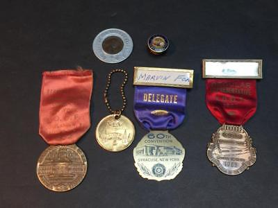 Collection of IOOF Odd Fellows Medals and Coins