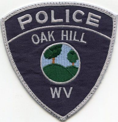 Oak Hill West Virginia Wv Police Patch