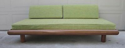 Vintage Widdicomb Robsjohn Gibbings ? walnut daybed sofa chaise Adrian Pearsall