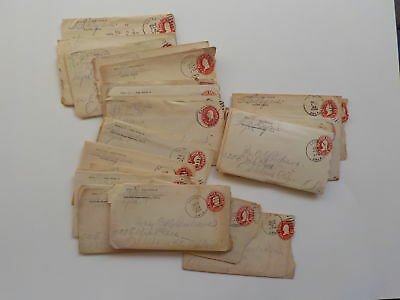 28 Antique Letters 1910s Sayre Oklahoma City Lot Collection Postal Covers VTG OK