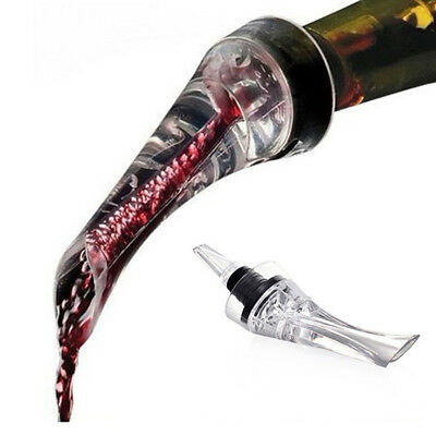 Acrylic Wine Aerator Quick Aerating Red Wine Whiskey Magic Bottle Pourer Spout