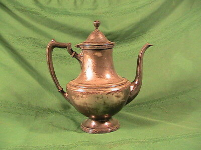 Vintage  Silver Plate By Wallace  Tea Pot  Coffeepot