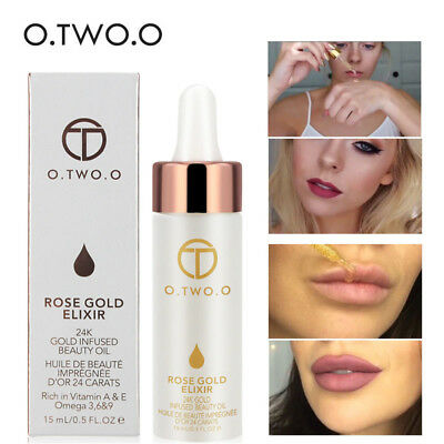 Makeup Face Lips Foundation Primer Gold Base Oil-ControL Hydrating Moisturizing